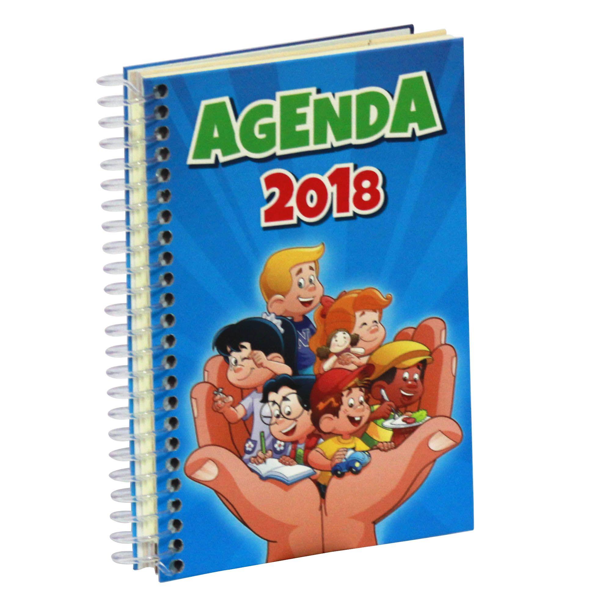 Agenda Escolar Nosso Amiguinho 2018 - Maternal | 1º Ano | 2º Ano | 3º Ano | 4º Ano | 5º Ano
