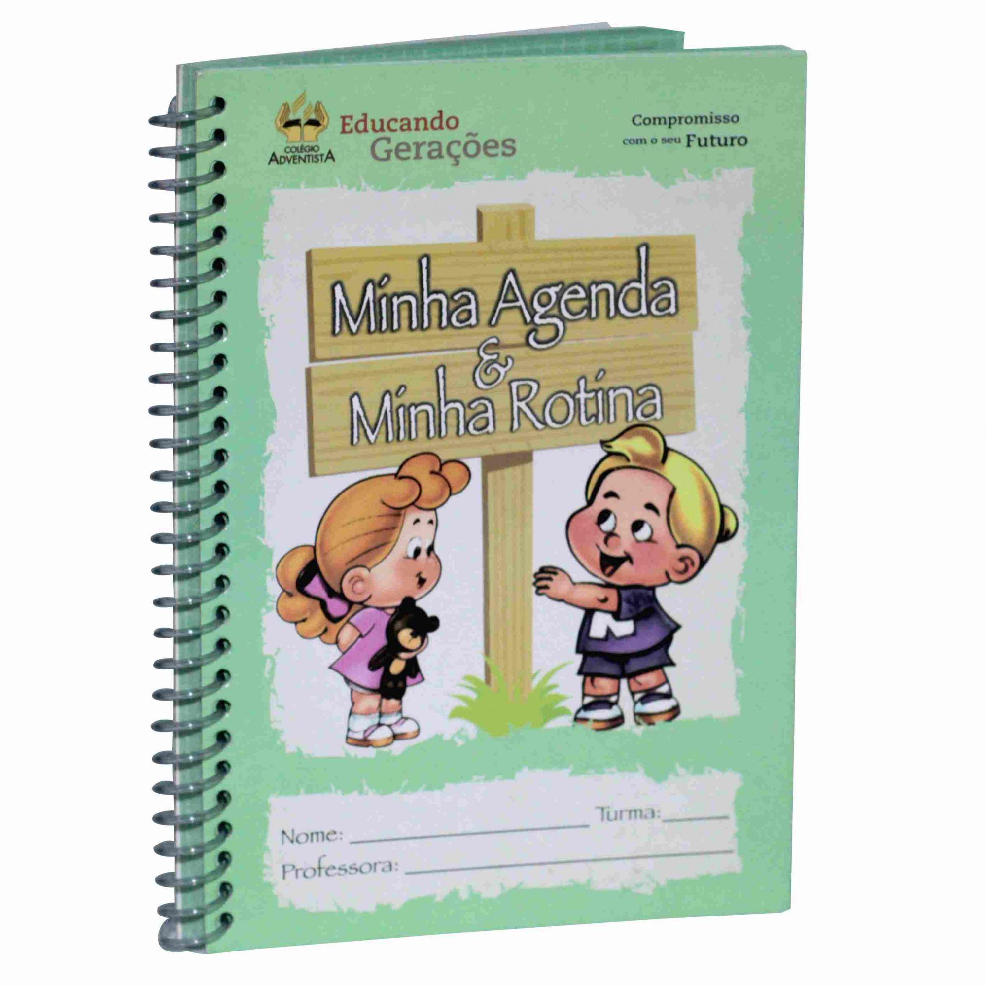 Livro Minha Rotina - Maternal