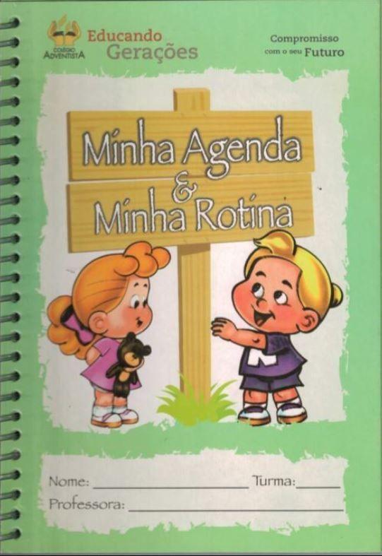 Minha Agenda e Minha Rotina - Maternal