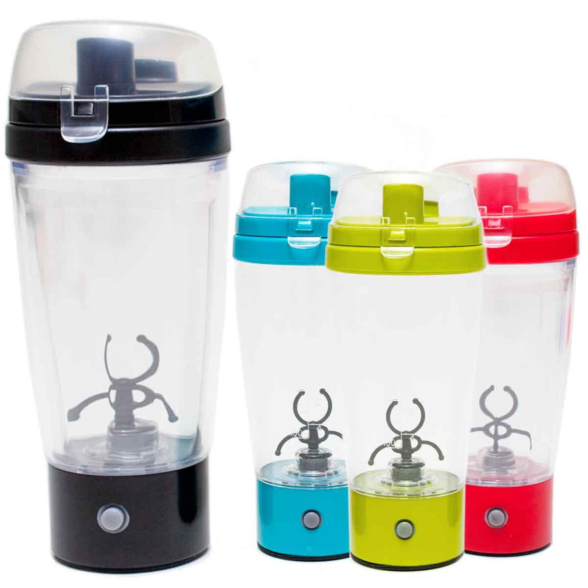 Coqueteleira Garrafa Squeeze Elétrica 450ml Mixer Shaker