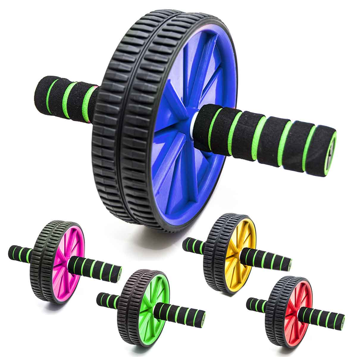 Roda Para Exercícios Abdominal Lombar Fitness Academia