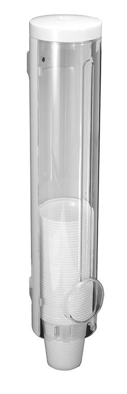 Dispenser Acrilico Para Copos de Água (180/200mL) Cancun Branco/Cristal