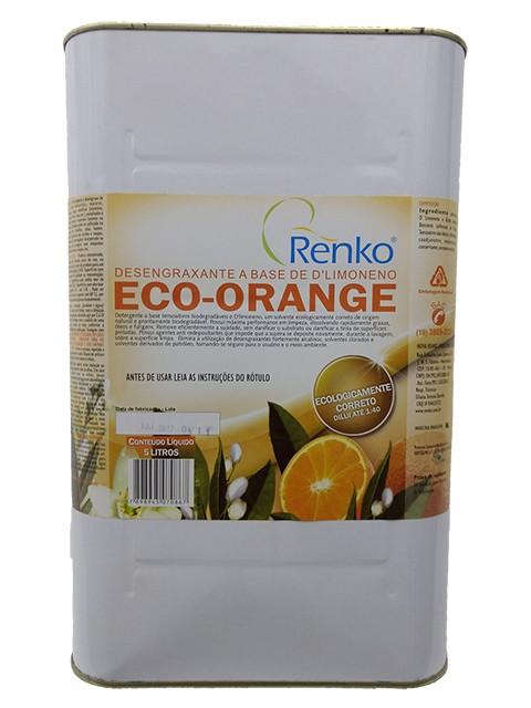 Removedor Desengraxante a base de D Limoneno Eco Orange