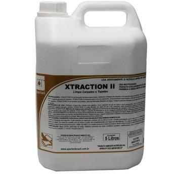Limpa Estofados e Tapetes utilizado em extração Xtraction II 5 Litros
