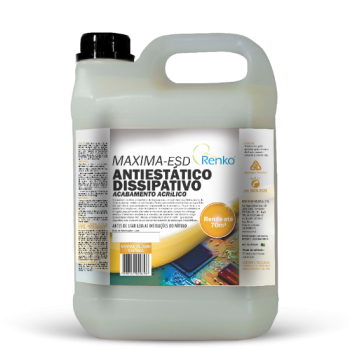 Limpador de piso Antiestático Dissipativo acabamento acrilico maxima-esd 5l Renko