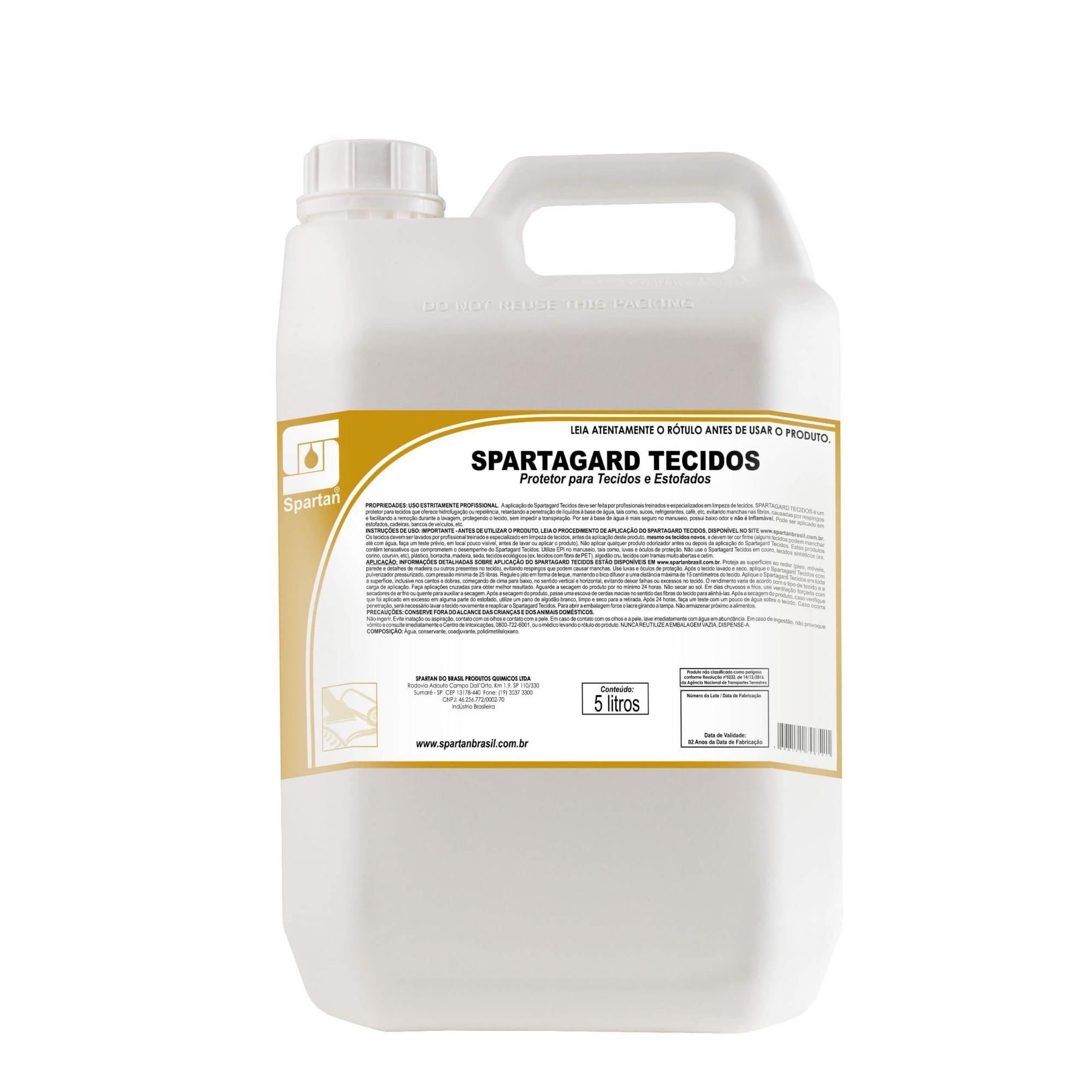 Protetor para Tecidos e Estofados Spartagard 5 Litros