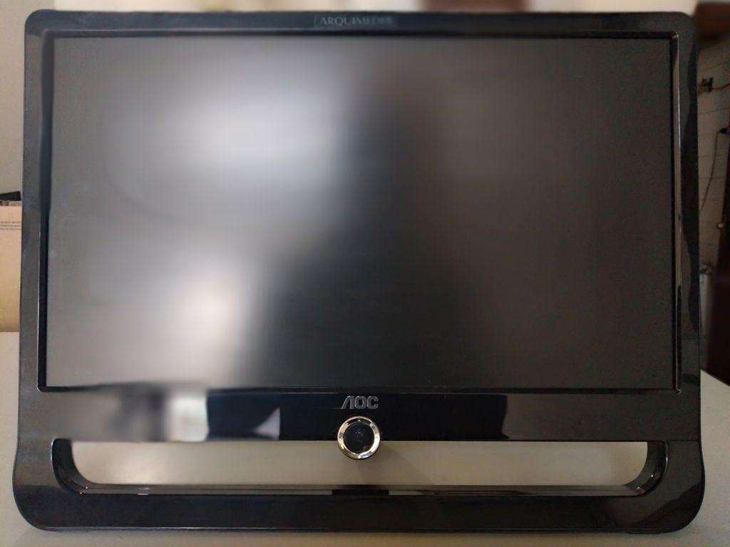 """Monitor AOC - Modelo F19L - Tamanho 18.5"""" polegadas - LCD WIDE DIGITAL - Semi Novo com garantia de 90 dias"""