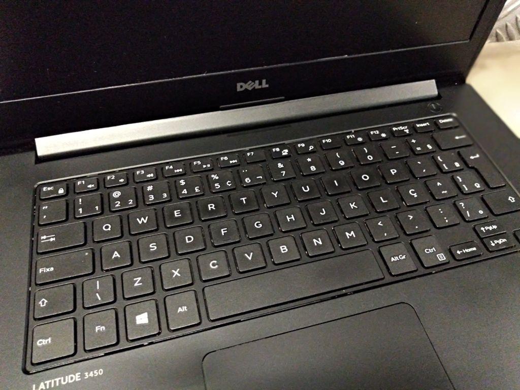 "Notebook DELL LATITUDE 3450 com Processador Intel Core i5 Quinta Geração - RAM 8GB - HD 1TB - TELA 14"""