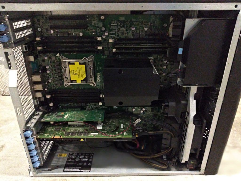 WorkStation DELL PRECISION T7600 com Processador Intel XEON E5-2667 - RAM 16GB - Placa de Vídeo Quadro 4000 de 2GB
