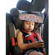 Faixa soninho apoia a cabeça do bebê na cadeirinha