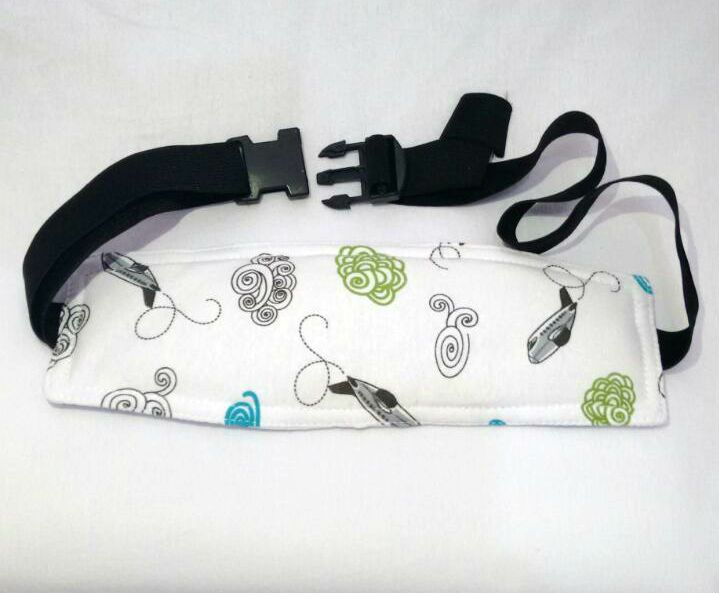 Faixa soninho apoio de cabeça que prende na cadeirinha do bebê