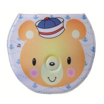 Travesseiro Anatômico Para Apoiar a Cabeça do Bebê na Troca de Fraldas