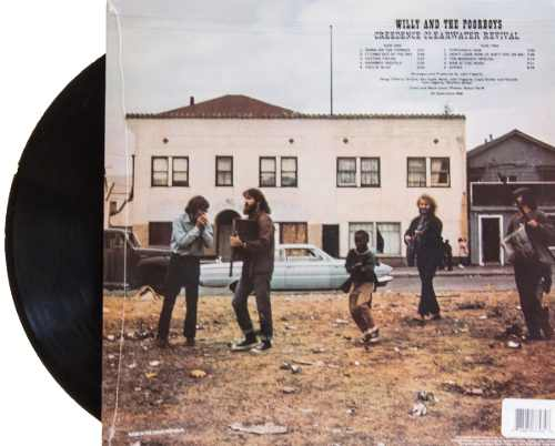 Lp Creedence Clearwater Revival Willy And The Poor Boy