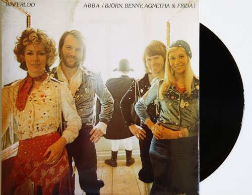 Lp Abba Waterloo