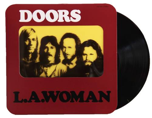 Lp The Doors L.A. Woman Capa Especial