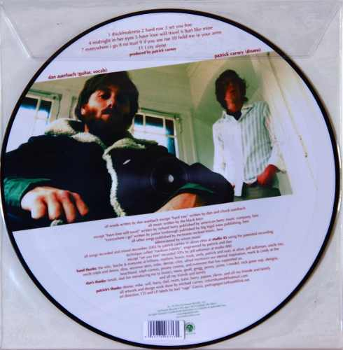 Lp Picture Disc The Black Keys Thickfreakness