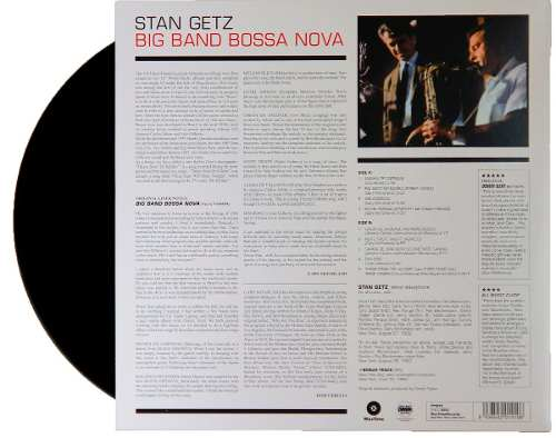 Lp Stan Getz Big Band Bossa Nova