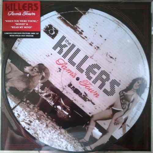 Lp Picture Disc The Killers Sams Town