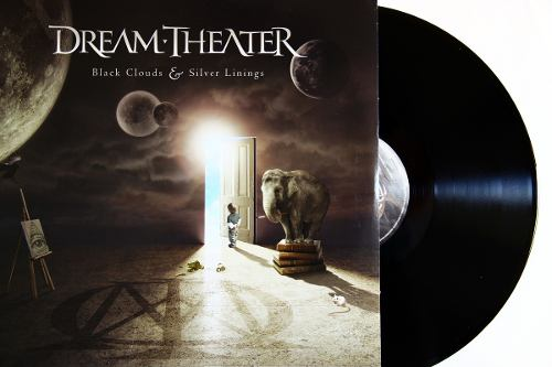 Lp Dream Theater Black Clouds Silver Linings