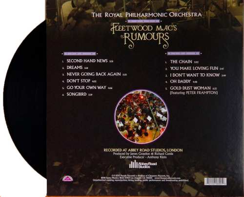 Lp Royal Philharmonic Orchestra Plays Fleetwood Mac