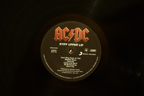 Lp ACDC Stiff Upper Lip