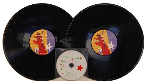 Lp + Cd Manu Chao Siberie Metait Conteee