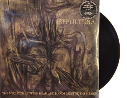 Lp Sepultura The Mediator Between Head And Hands