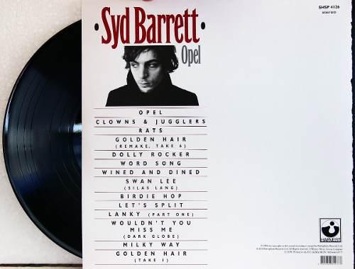 Lp Syd Barrett Opel 2014