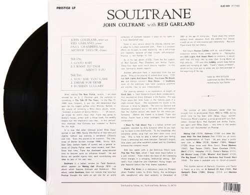 Lp John Coltrane Soultrane
