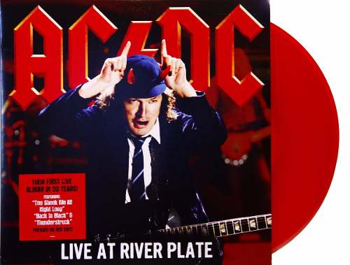 Lp ACDC Live At River Plate
