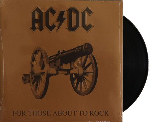 Lp ACDC For Those About To Rock