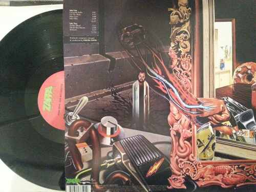 Lp Frank Zappa Over-Nite Sensation