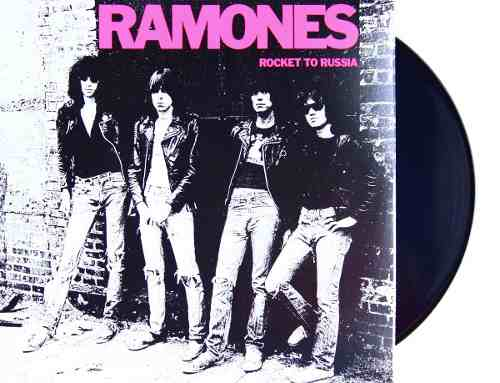 Lp Ramones Rocket To Russia