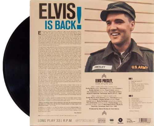Lp Elvis Presley Elvis Is Back!