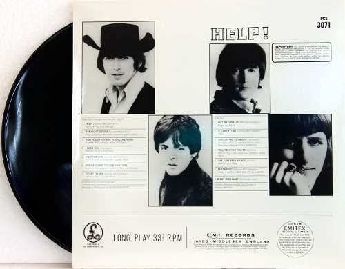 Lp The Beatles Help Estereo