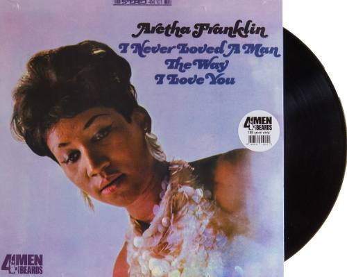 Lp Aretha Franklin I Never Loved A Man The Way I Love You
