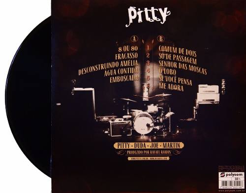 Lp Pitty Trupe Delirante No Circo Voador