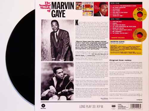Lp Marvin Gaye The Soulful Moods