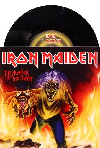 Lp Compacto Iron Maiden The Number Of The Beast