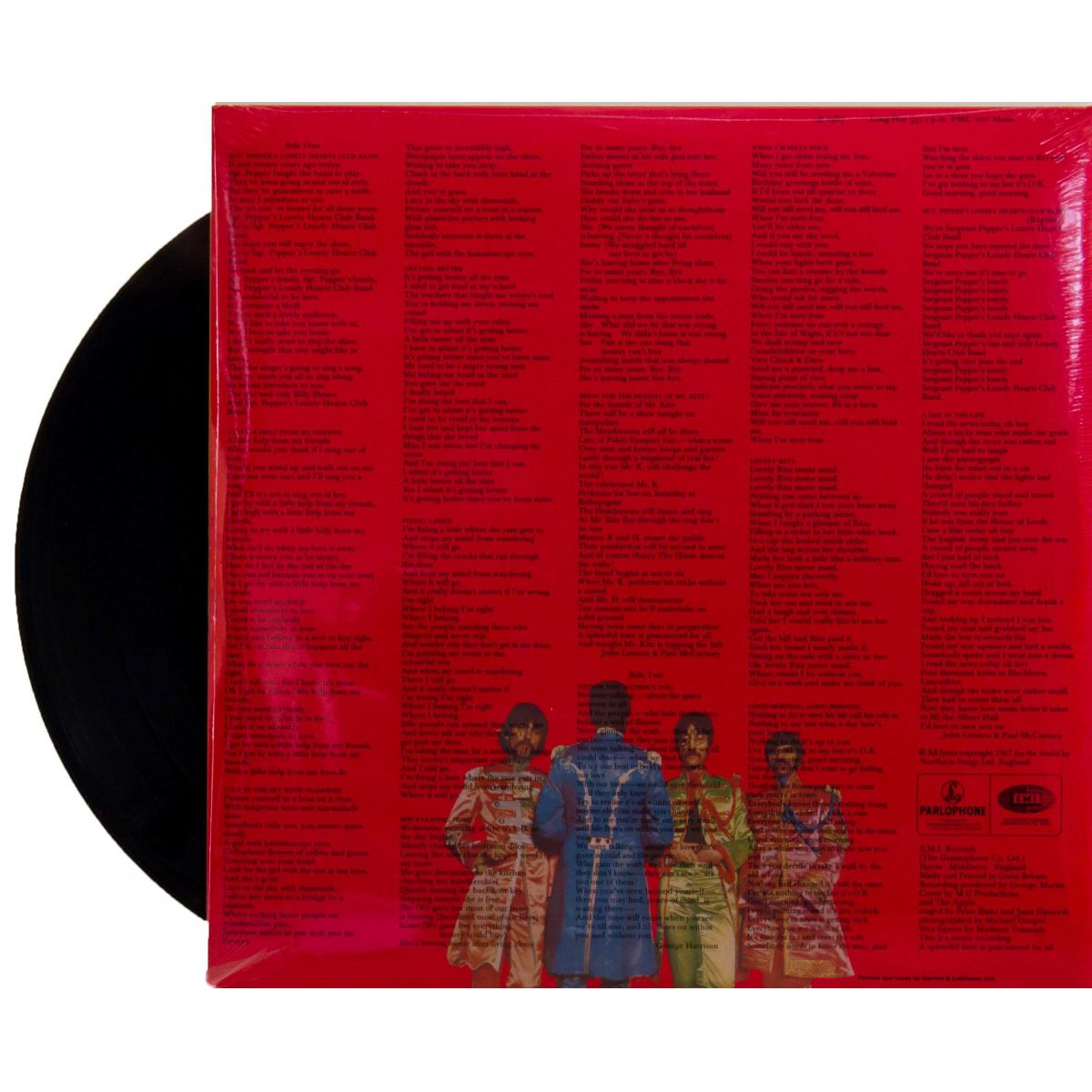 Lp The Beatles Sgt. Peppers Mono