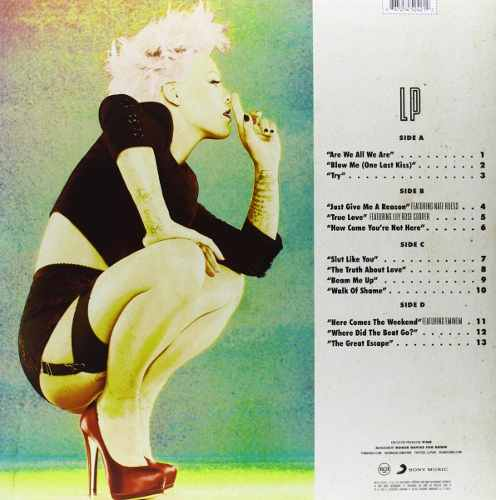 Lp Pink The Truth About Love
