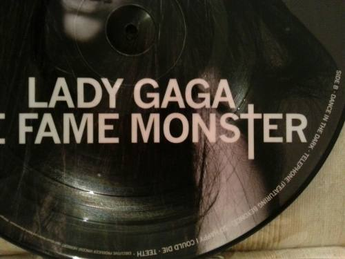 Lp Picture Disc Lady Gaga The Fame Monster
