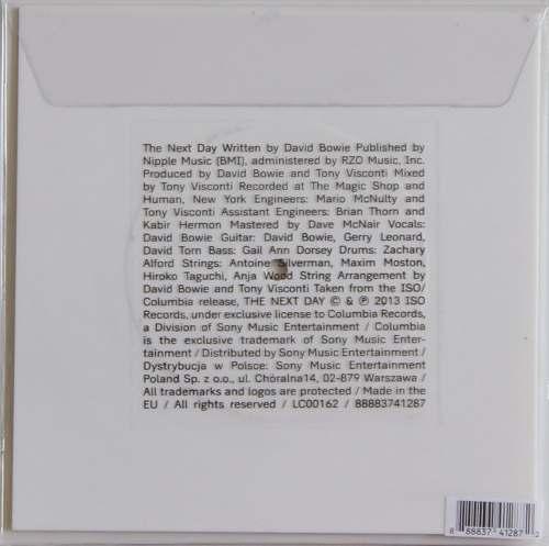 Lp Compacto Picture Disc David Bowie The Next Day
