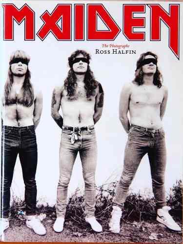 Livro Iron Maiden The Photographs By Ross Halfin
