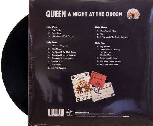 Lp Queen A Night Ate The Odeon