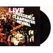 Lp Creedence Clearwater Revival Live Europe
