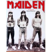 Livro Iron Maiden The Photographs By Ross Halfin