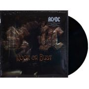 Lp ACDC Rock Or Bust Capa Lenticular
