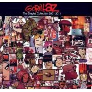 Cd Gorillaz The Singles Collection 2001-2011