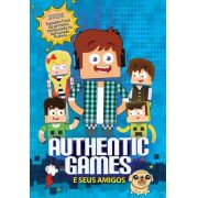 Dvd Authentic Games E Seus Amigos